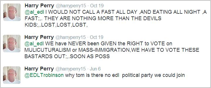 Harry Perry tweets