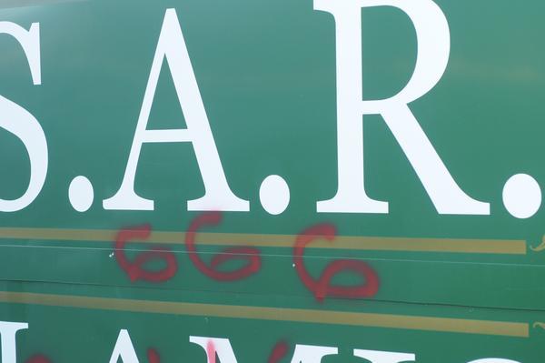 ISAR 666 graffiti