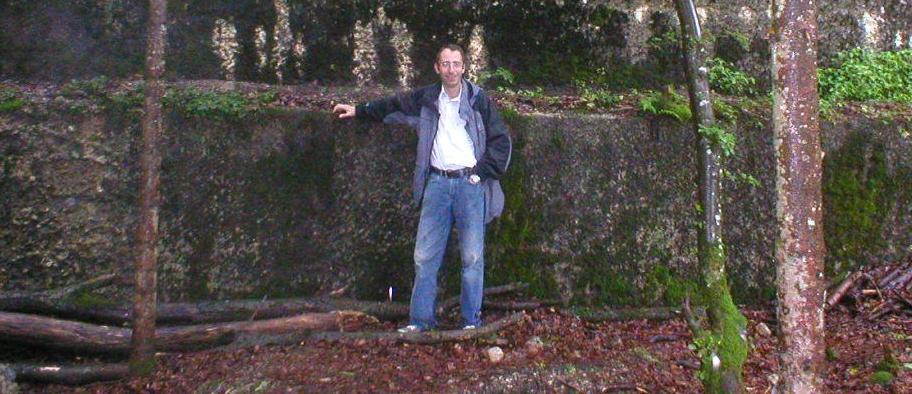 Ian Forman at Hitler's Berghof residence