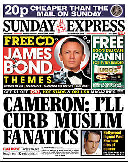 I'll curb Muslim fanatics