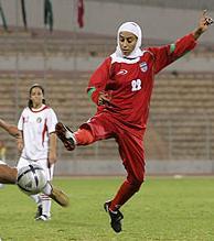Iranian girls football