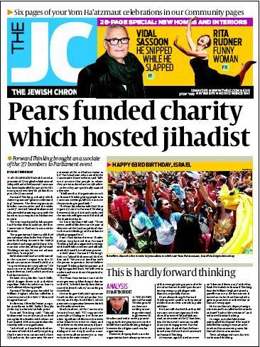 JC Pears headline