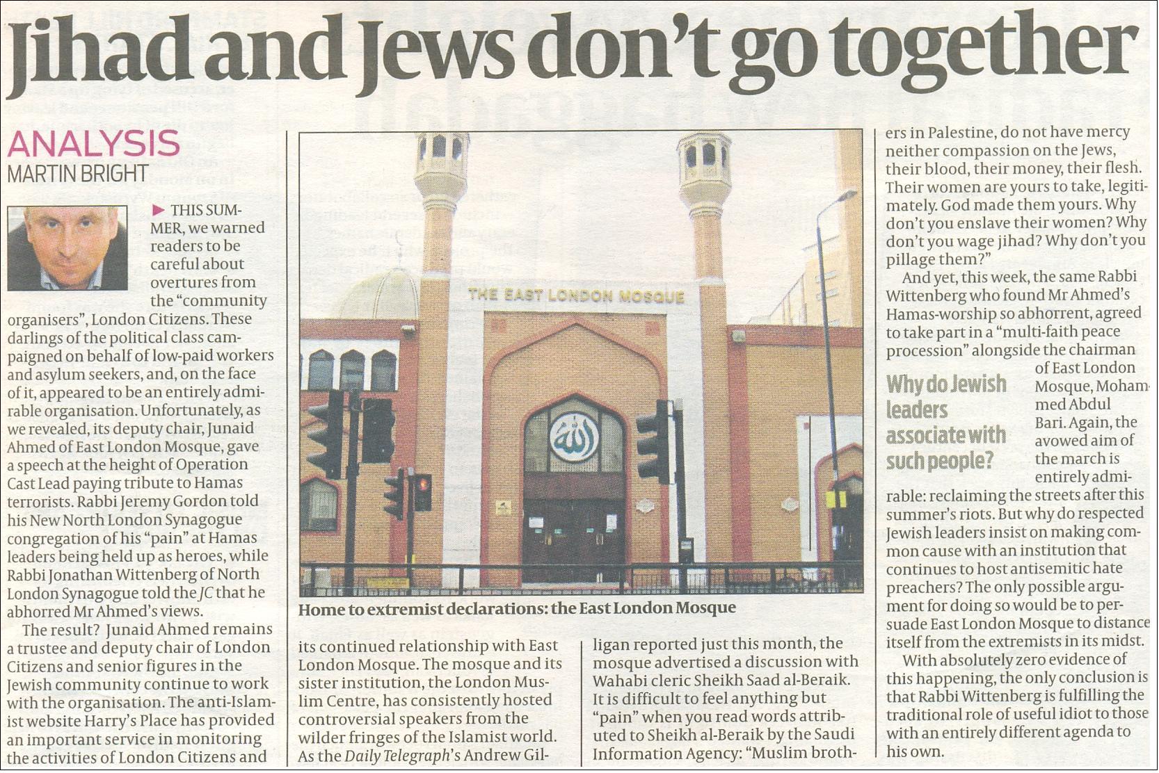 Jihad and Jews