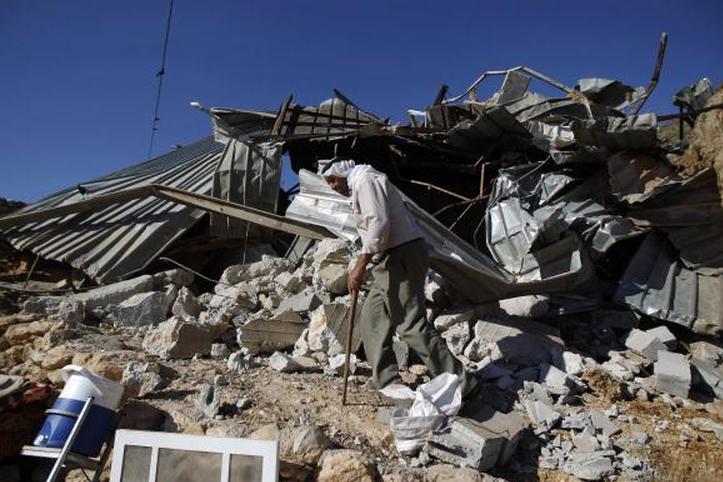 Khirbet Al-Taweel mosque demolished