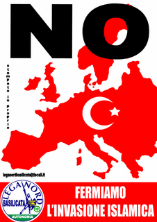 Lega Nord anti-Islam poster
