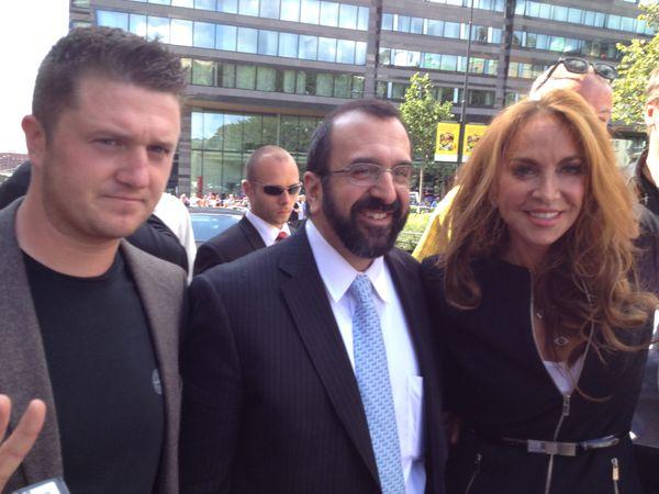 Lennon, Spencer and Geller in Stockholm
