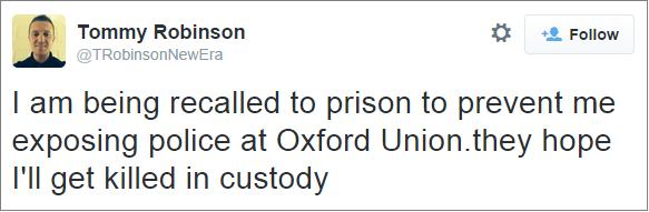 Lennon claims police want him dead