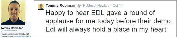 Lennon still supports EDL