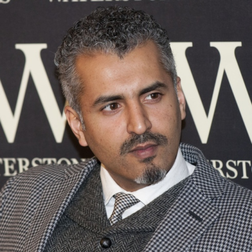 Maajid Nawaz at Waterstones