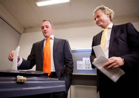 Machiel de Graaf and Wilders