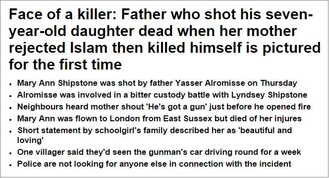 Mail on Mary Ann Shipstone murder