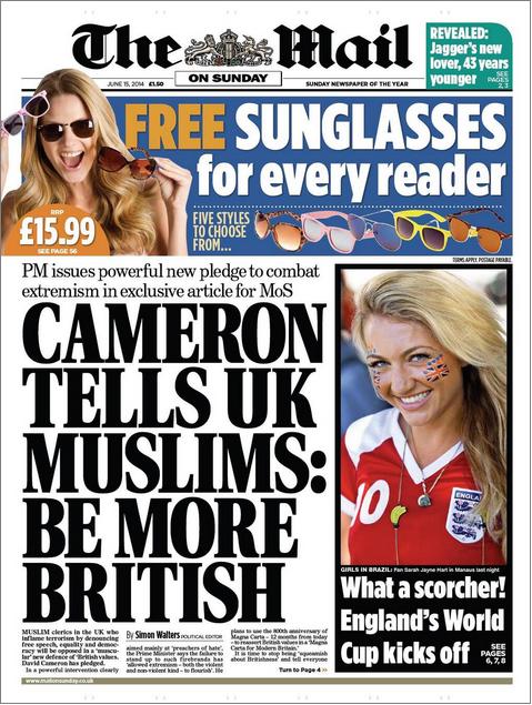 Mail on Sunday Be More British