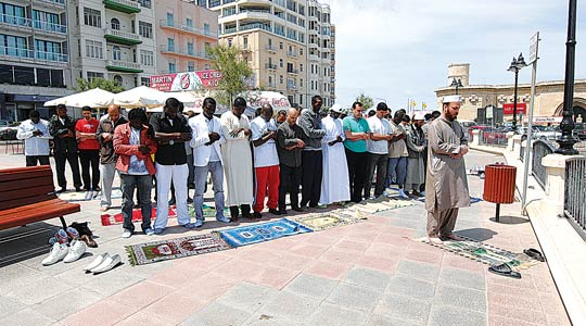 Maltese Muslims protest