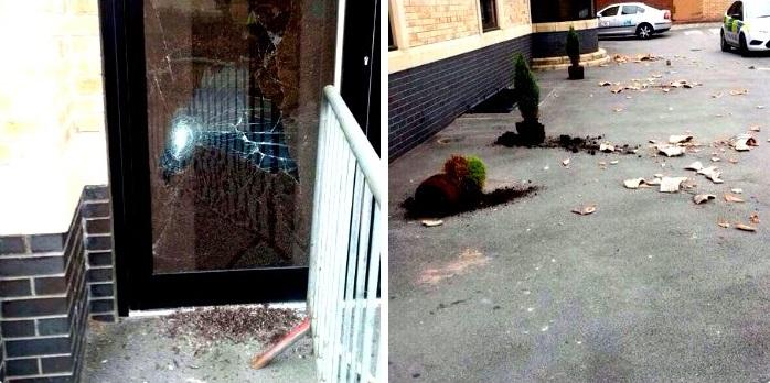 Markaz-ul-Uloom Al-Islamia vandalism (2)