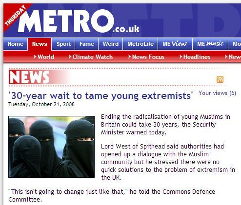 Metro niqab picture