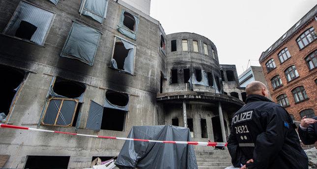 Mevlana Mosque arson