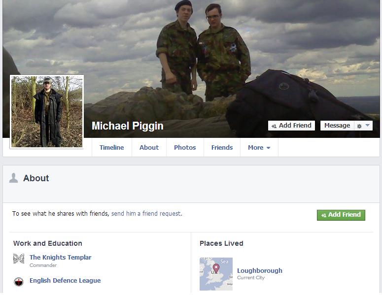 Michael Piggin Facebook page