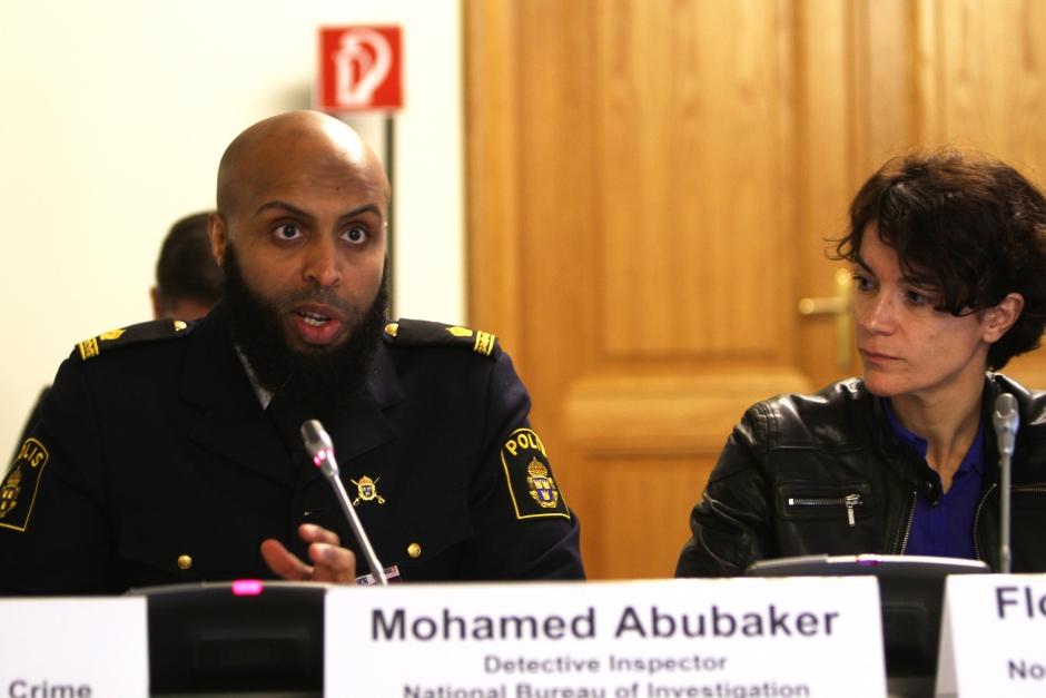 Mohamed Abubaker at OSCE hate-crime meeting