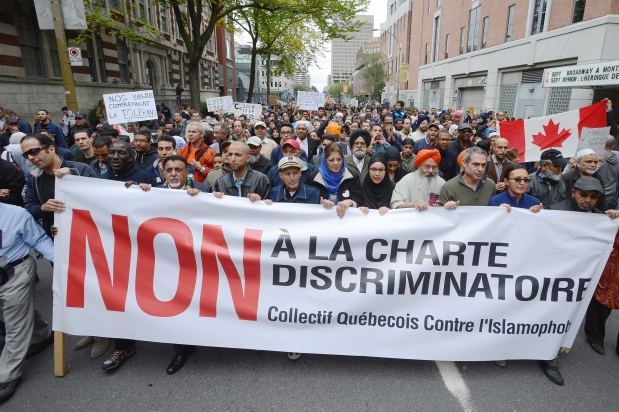 Montreal protest against Charter of Values (2)