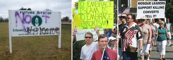 Mufreesboro anti-mosque actions