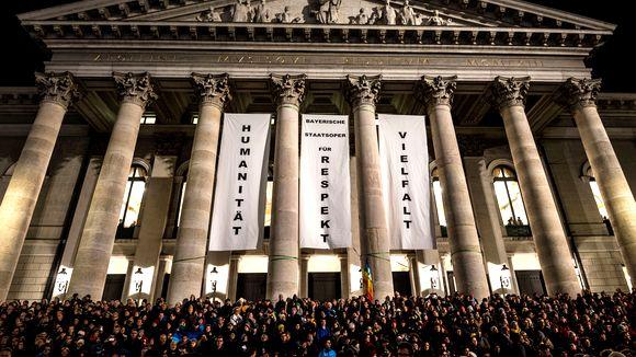 Munich anti-PEGIDA rally