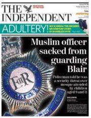 Muslim officer sacked
