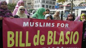 Muslims for Bill de Blasio