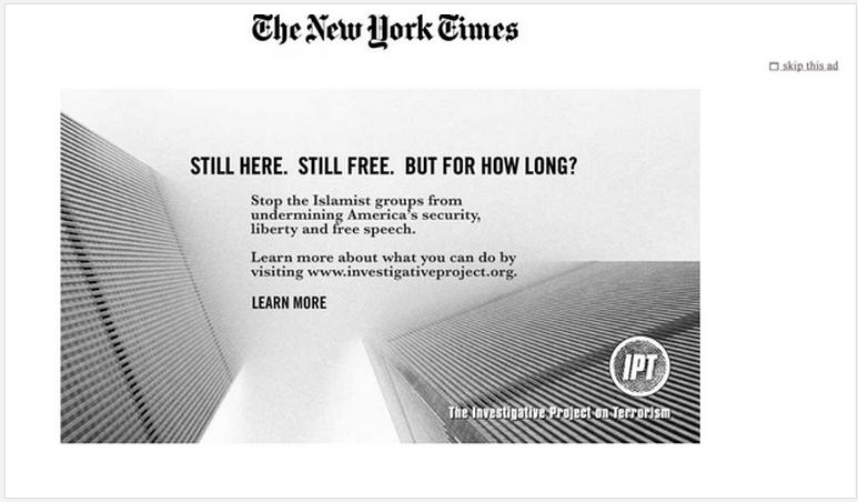NYT IPT ad