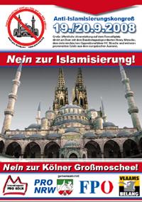 Nein zur Islamisierung