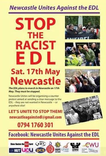 Newcastle Unites Against the EDL