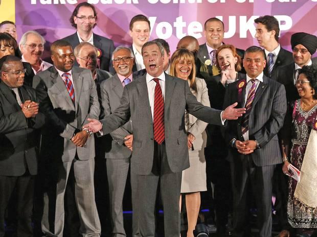 Nigel Farage says UKIP not racist