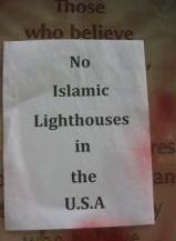 No Islamic lighthouses
