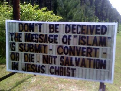 North Carolina church sign (2)