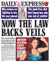 Now Law Backs Veils