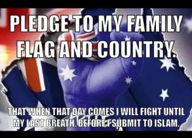 PDLA anti-Islam meme