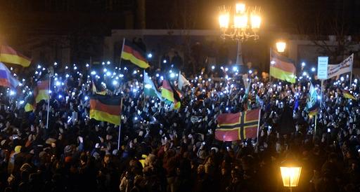 PEGIDA Dresden 22.12.14