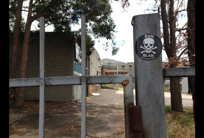Padstow mosque vandalism (1)