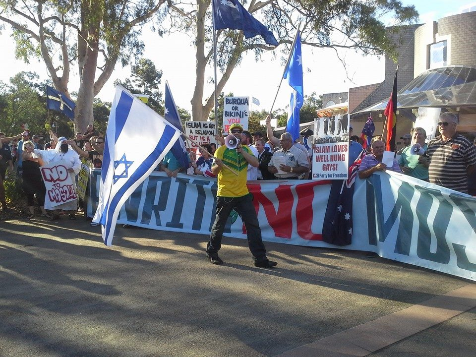 Penrith anti-Muslim protest