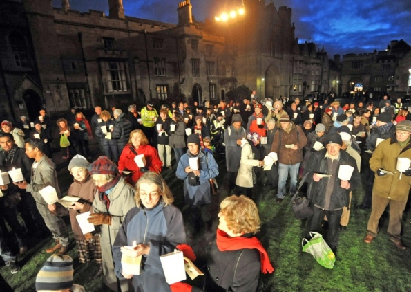 Peterborough vigil