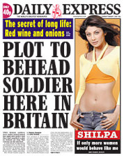 Plot to Behead Soldier