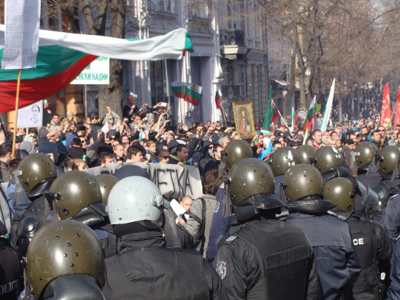 Plovdiv demonstration 14.2.14