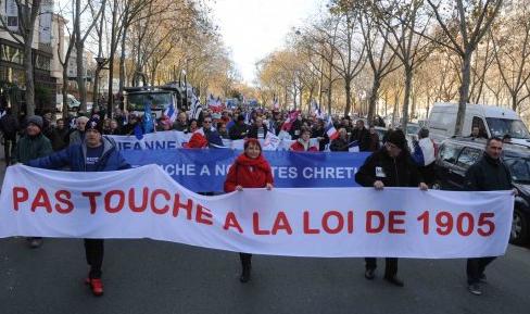 Résistance républicaine demonstration December 2013