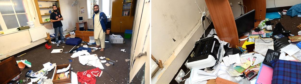 Rabbaniah Islamic Cultural Centre vandalism (3)