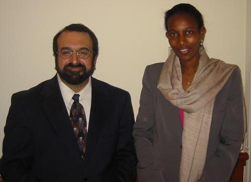 Robert Spencer and Hirsi Ali