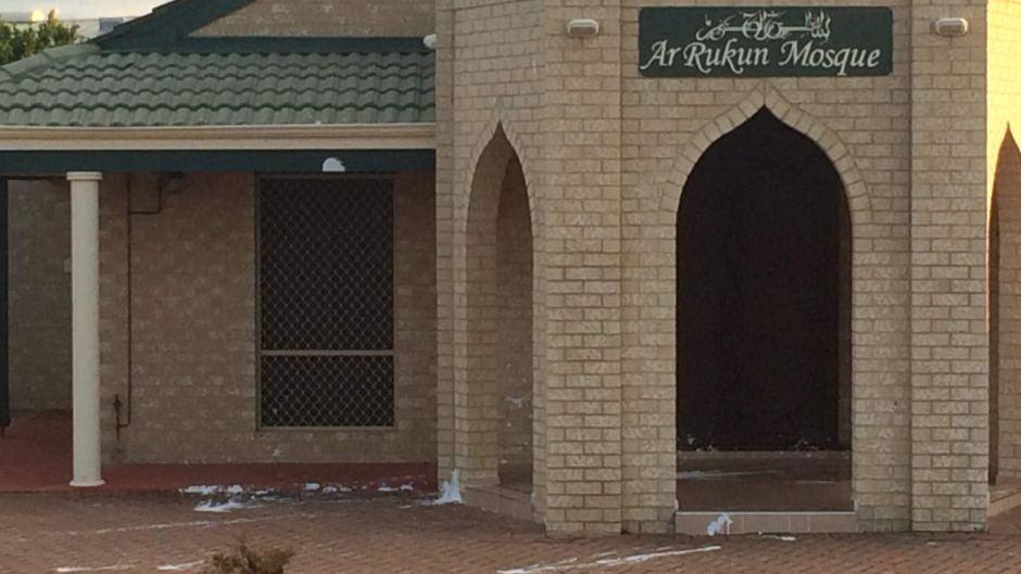 Rockingham mosque vandalism