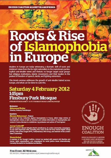 Roots & Rise of Islamophobia