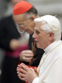 Ruini with Pope