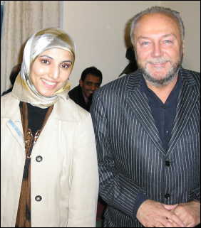 Salma and George