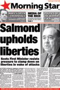 Salmond upholds liberties