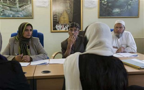 Sharia divorce hearing in Birminghamjpg